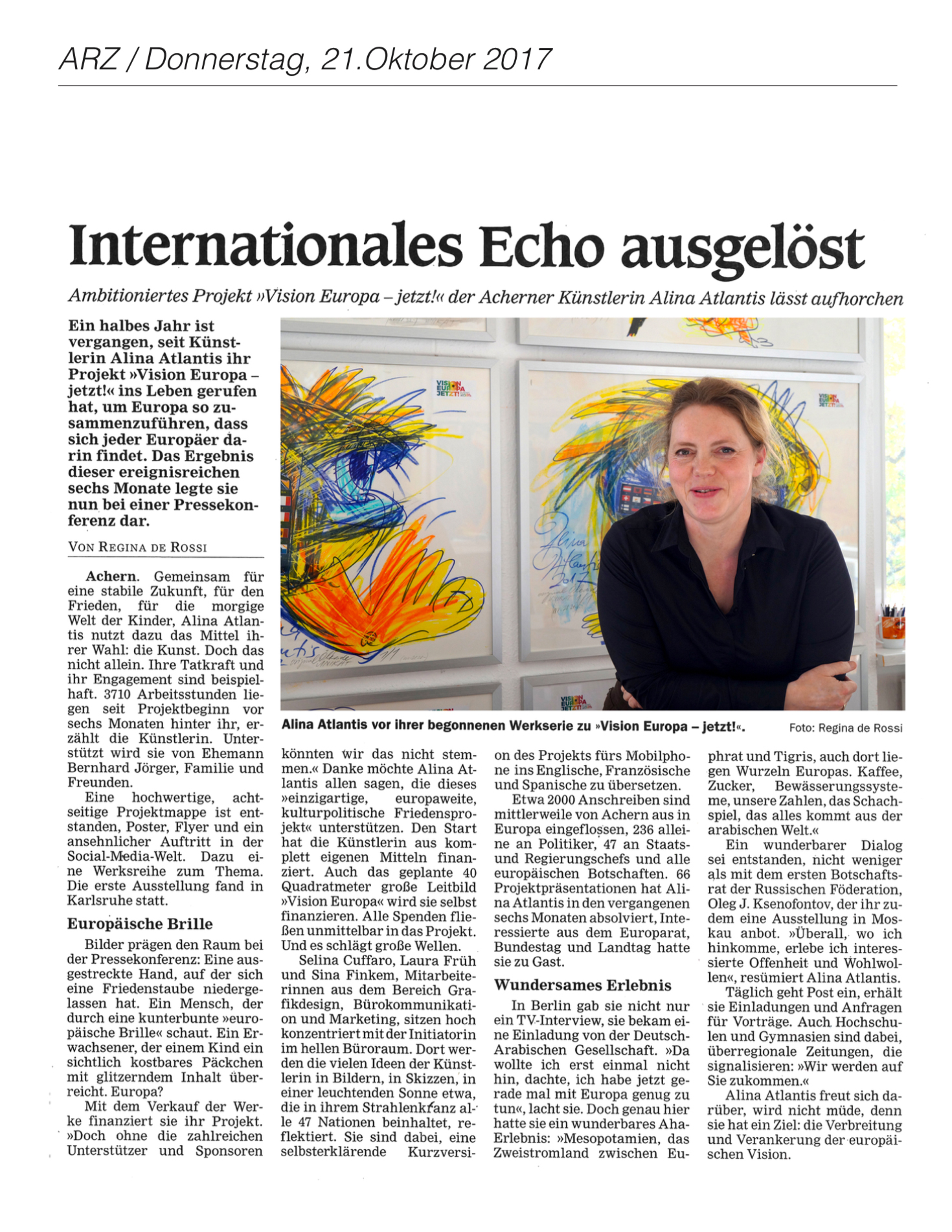 2017-10-21_ARZ_Internationales Echo ausgelöst